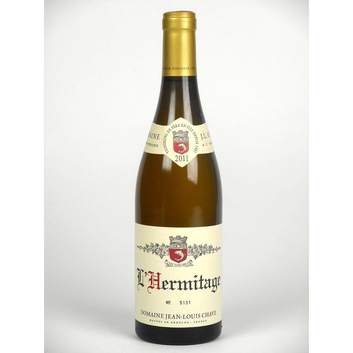 Hermitage: Jean-Louis Chave Blanc 2011 - Bottle