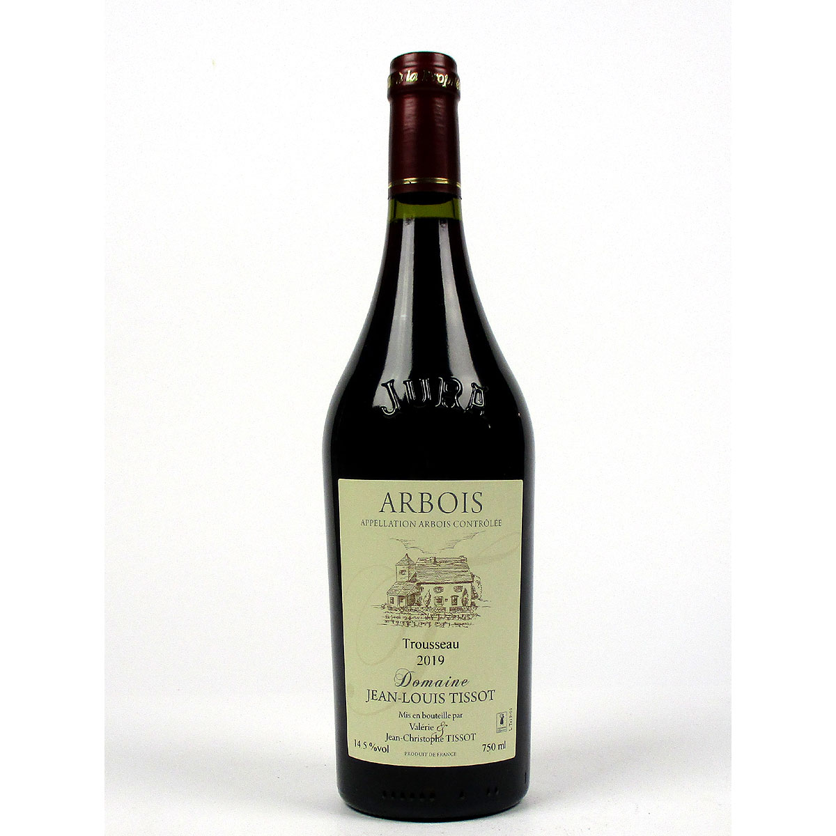 Jura Arbois: Trousseau Domaine Jean-Louis Tissot 2019 - Bottle