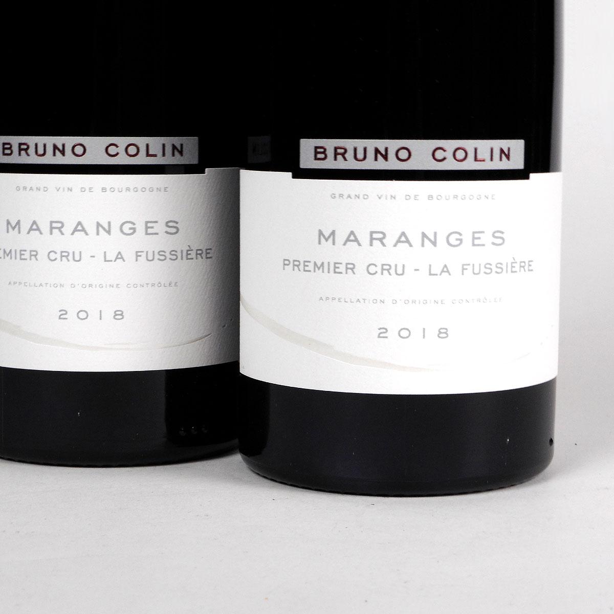 Maranges: Domaine Bruno Colin Premier Cru 'La Fussière' 2018