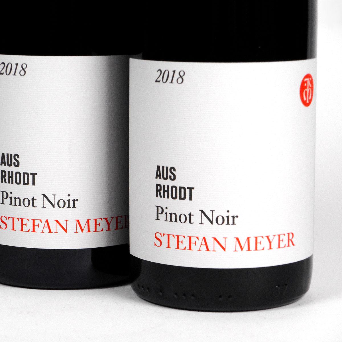 Pfalz: Stefan Meyer 'Aus Rhodt' Pinot Noir 2018