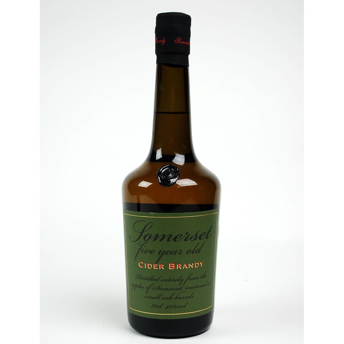Somerset Cider Brandy: 5 year old - Bottle