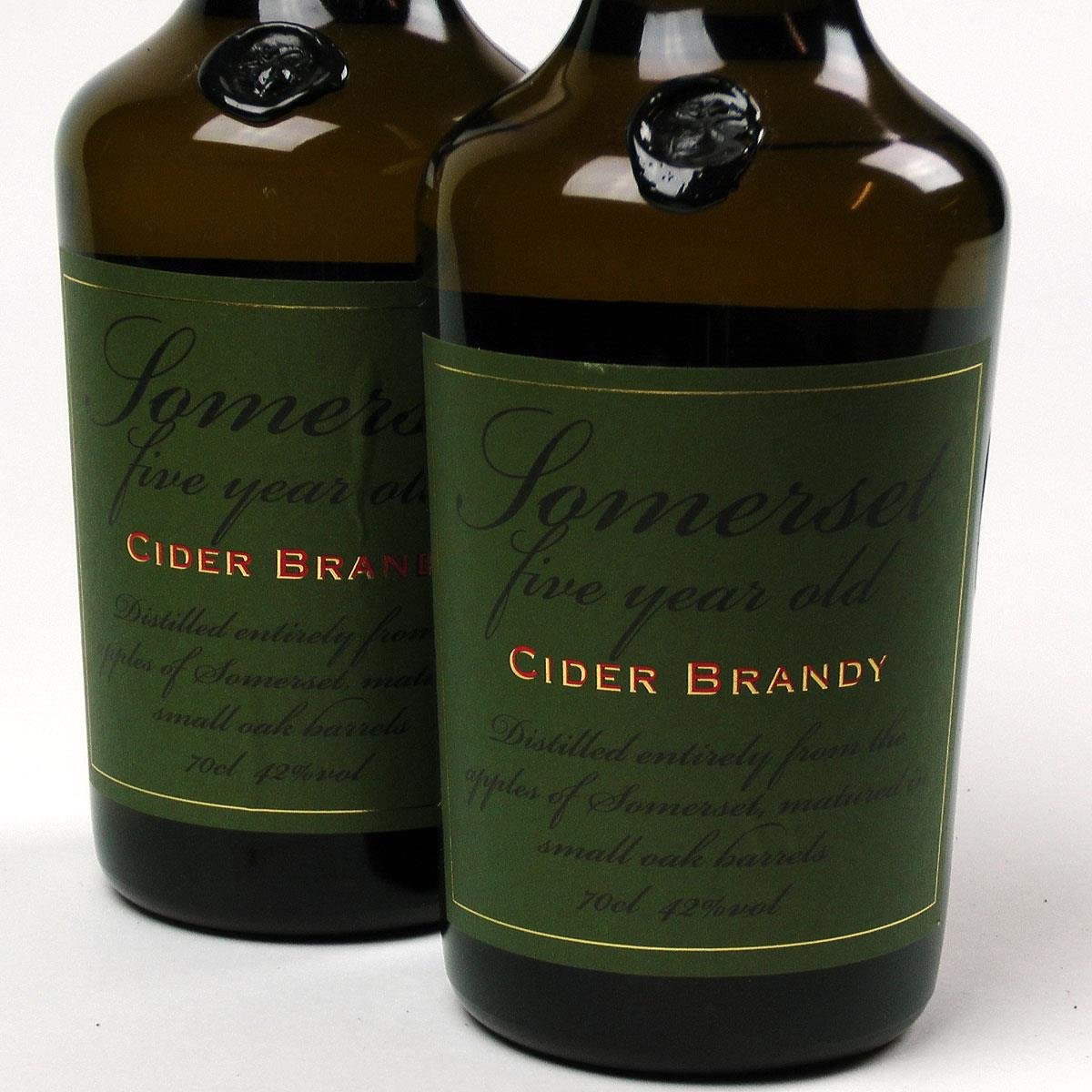 Somerset Cider Brandy: 5 year old