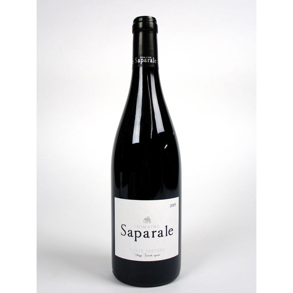 Vin de Corse Sartène Rouge: Domaine Saparale 2019 - Bottle