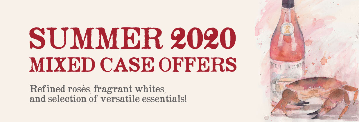 Mixed Case Wine Offers - Summer 2020