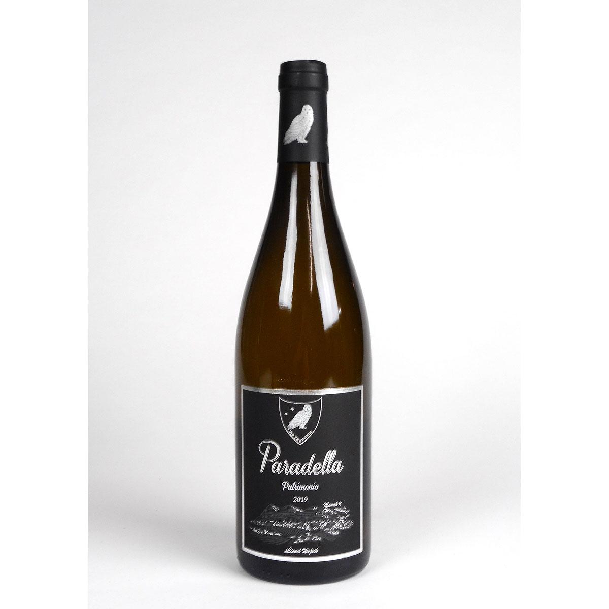 AOC Patrimonio: Domaine Paradella Blanc 2019 - Bottle