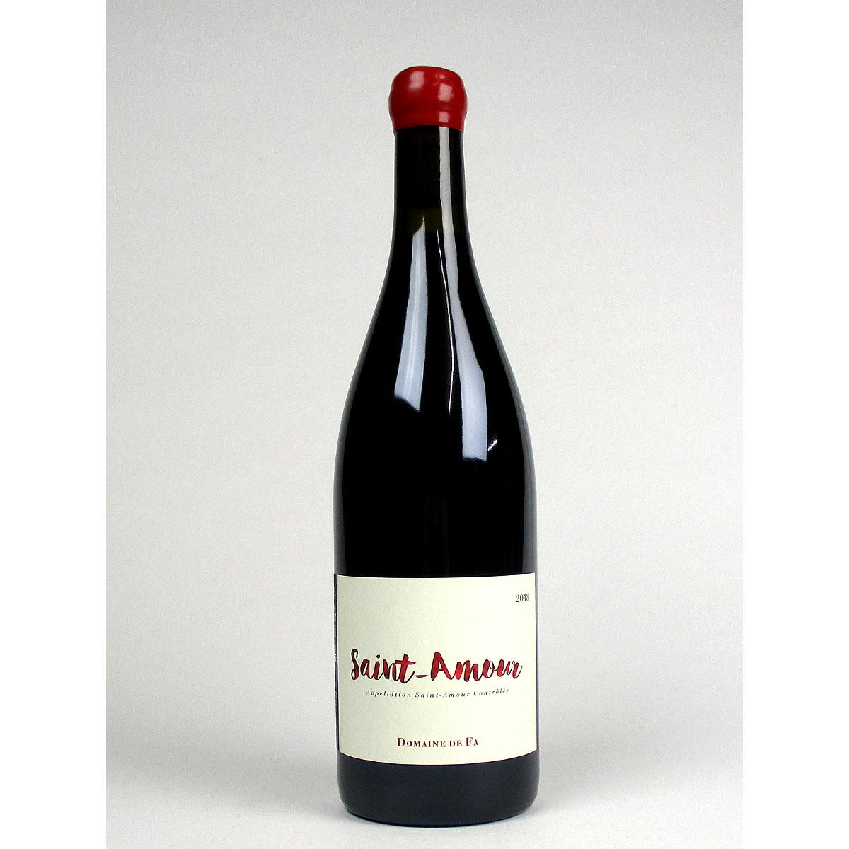 AOC Saint-Amour: Domaine de Fa 2018 - Bottle