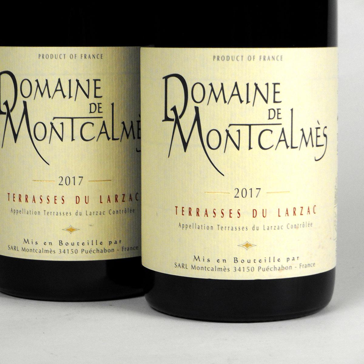 AOC Terrasses du Larzac: Domaine de Montcalmès Rouge 2017