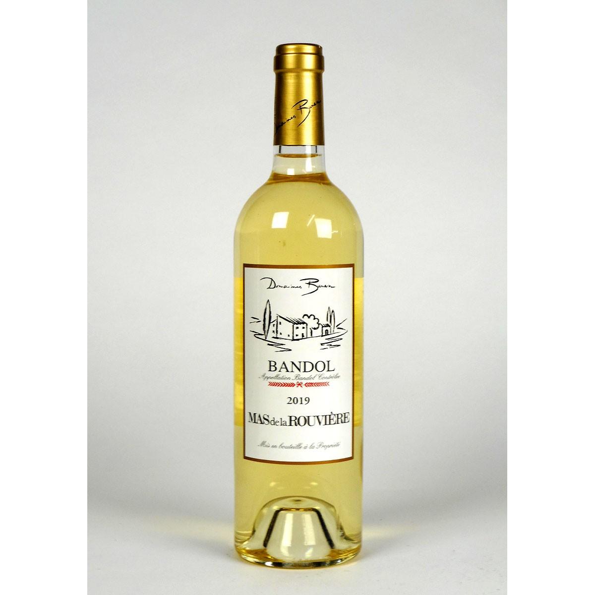 Bandol: Mas de la Rouvière Blanc 2019 - Bottle