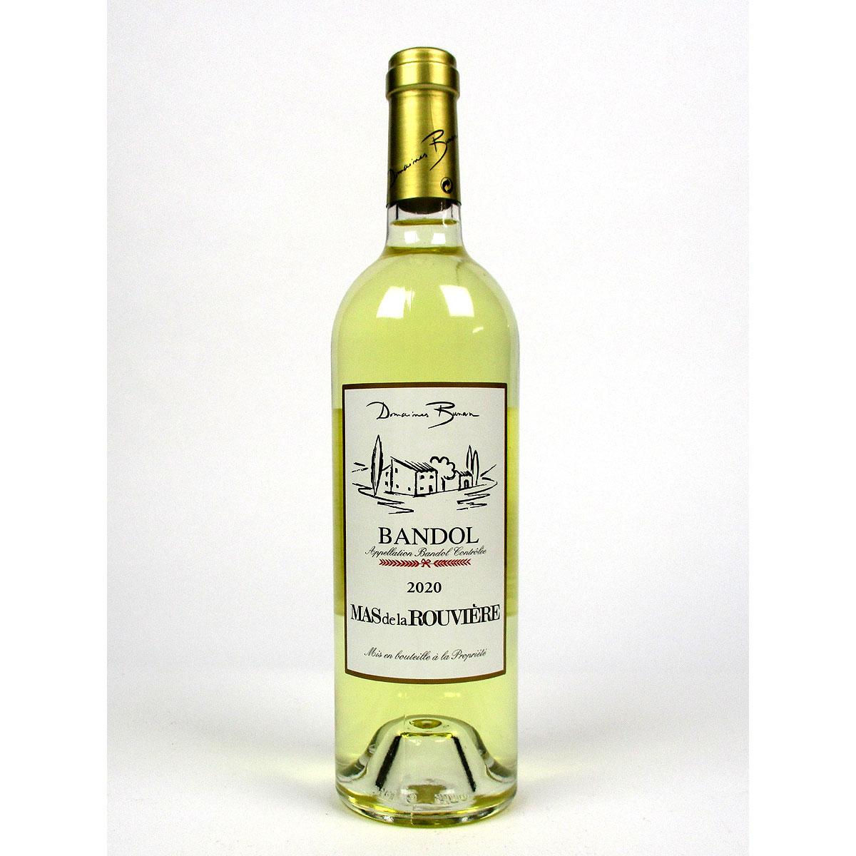 Bandol: Mas de la Rouvière Blanc 2020 - Bottle