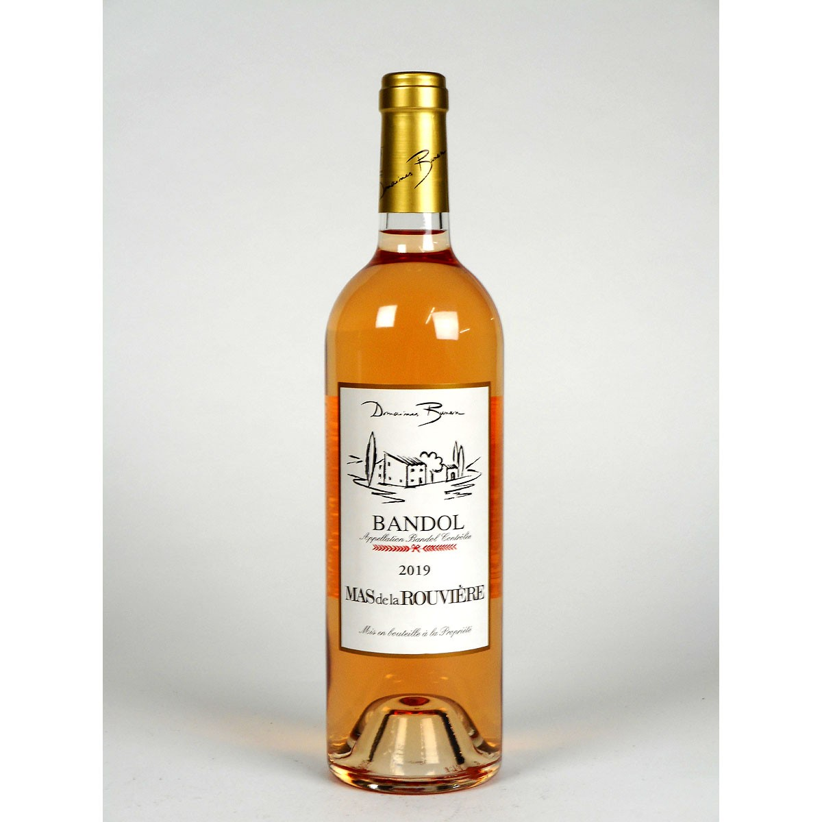Bandol: Mas de la Rouvière Rosé 2019 - Bottle
