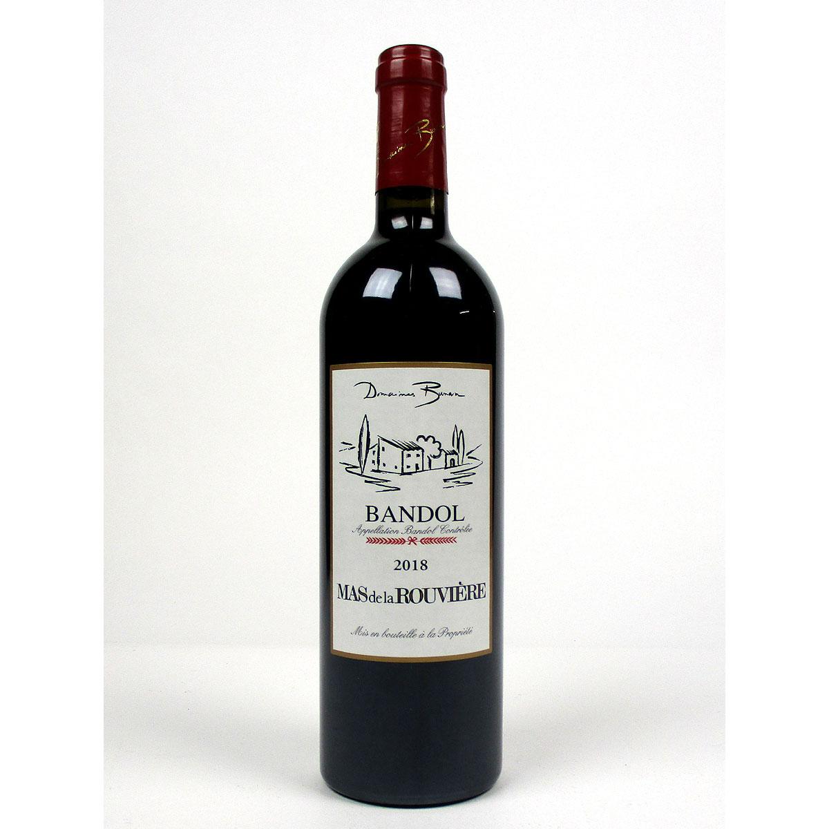 Bandol: Mas de la Rouvière Rouge 2018 - Bottle