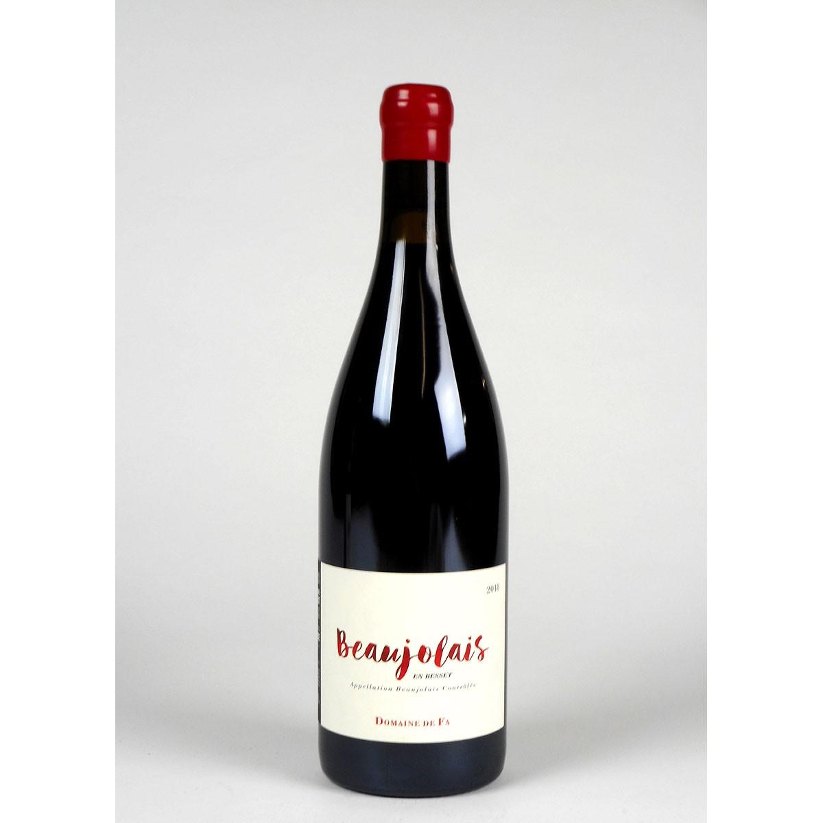 Beaujolais en Besset: Domaine de Fa 2018 - Bottle