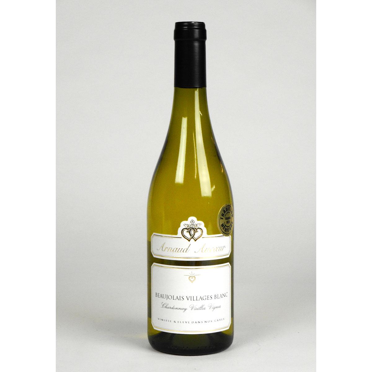 Beaujolais Villages: Arnaud Aucoeur 'Vieilles Vignes' Blanc 2018 - Bottle