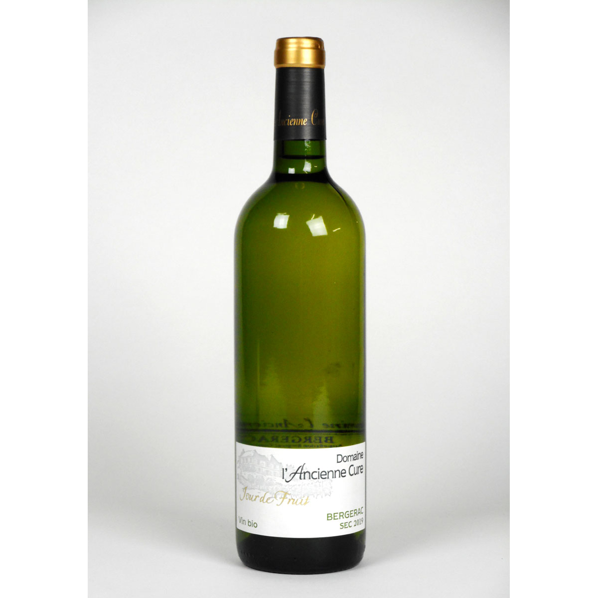 Bergerac: Domaine l'Ancienne Cure 'Jour de Fruit' Blanc Sec 2019 - Wine Bottle