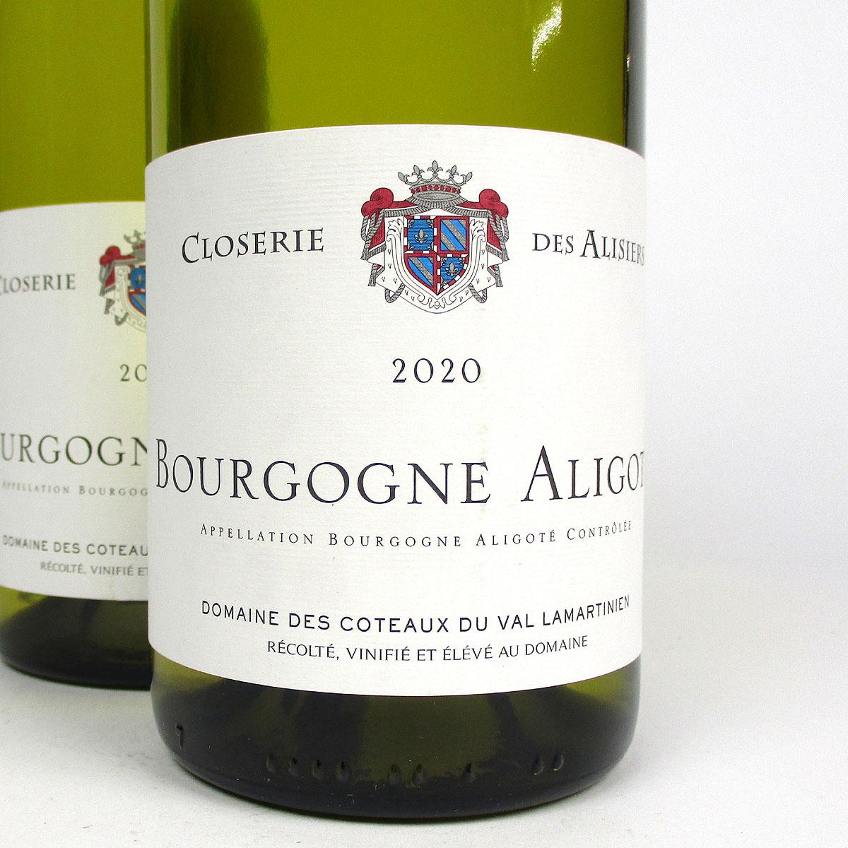 Bourgogne Aligoté: Closerie des Alisiers 2020