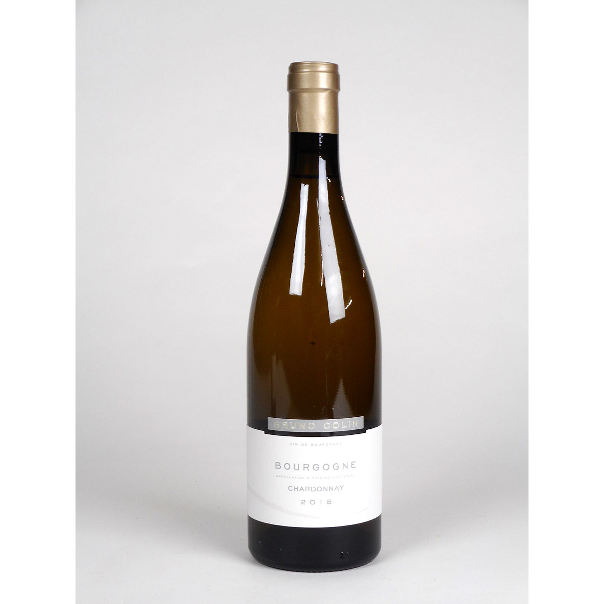 Bourgogne Chardonnay: Domaine Bruno Colin 2018 - Bottle