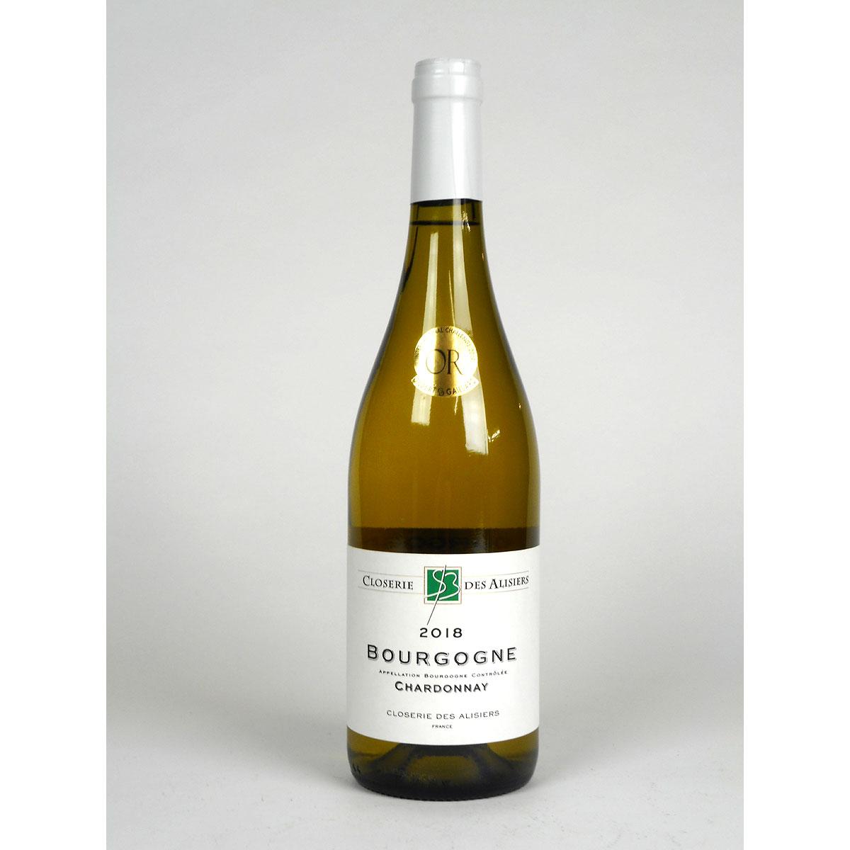 Bourgogne Chardonnay: Closerie des Alisiers 2018 - Bottle