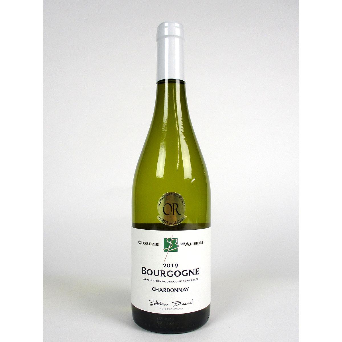 Bourgogne Chardonnay: Closerie des Alisiers 2019 - Bottle