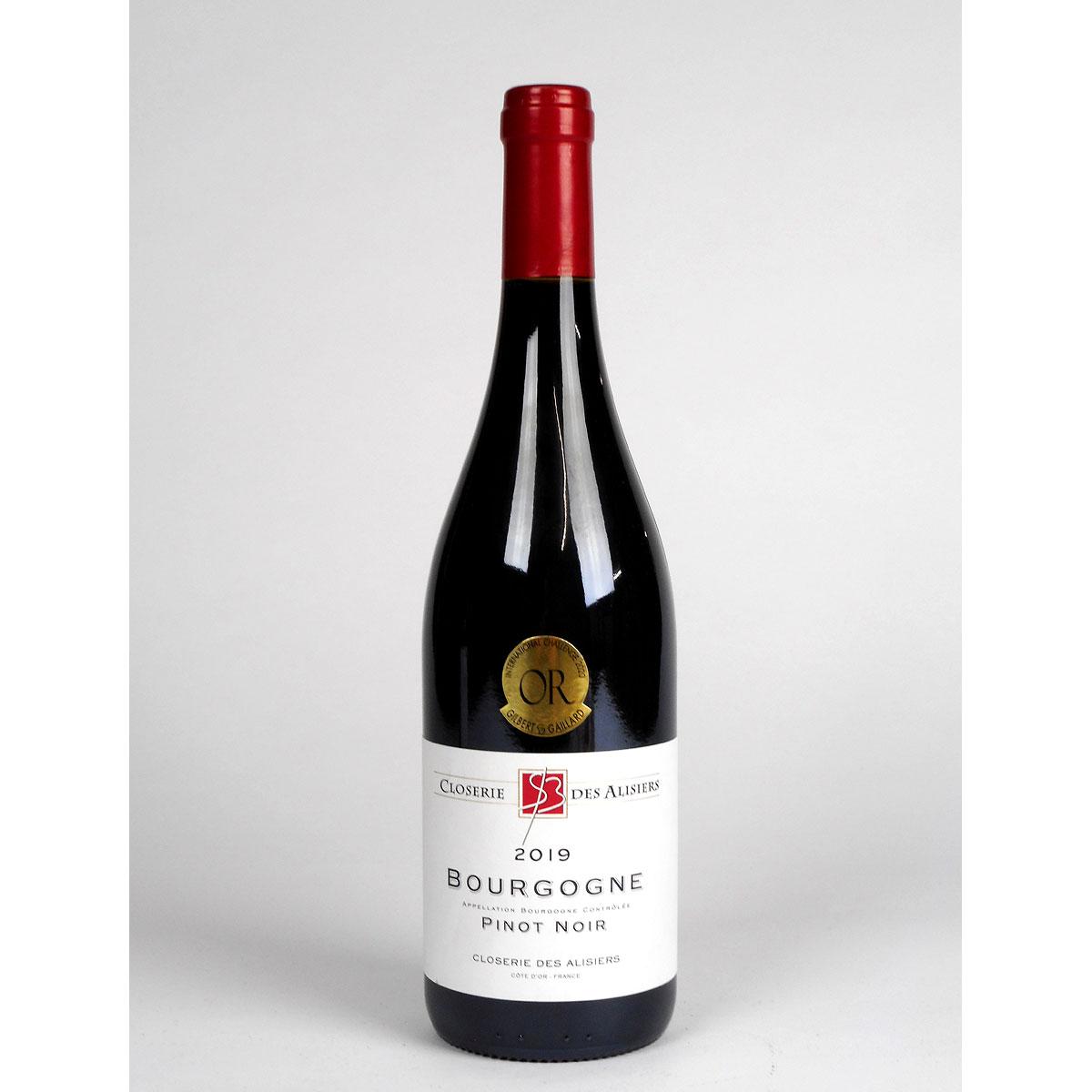 Bourgogne Pinot Noir: Closerie des Alisiers 2019 - Bottle