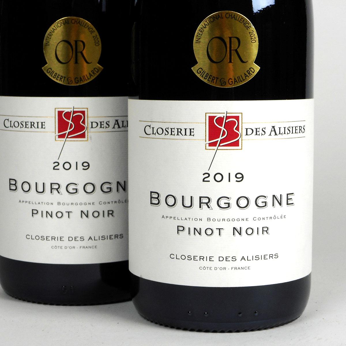 Bourgogne Pinot Noir: Closerie des Alisiers 2019
