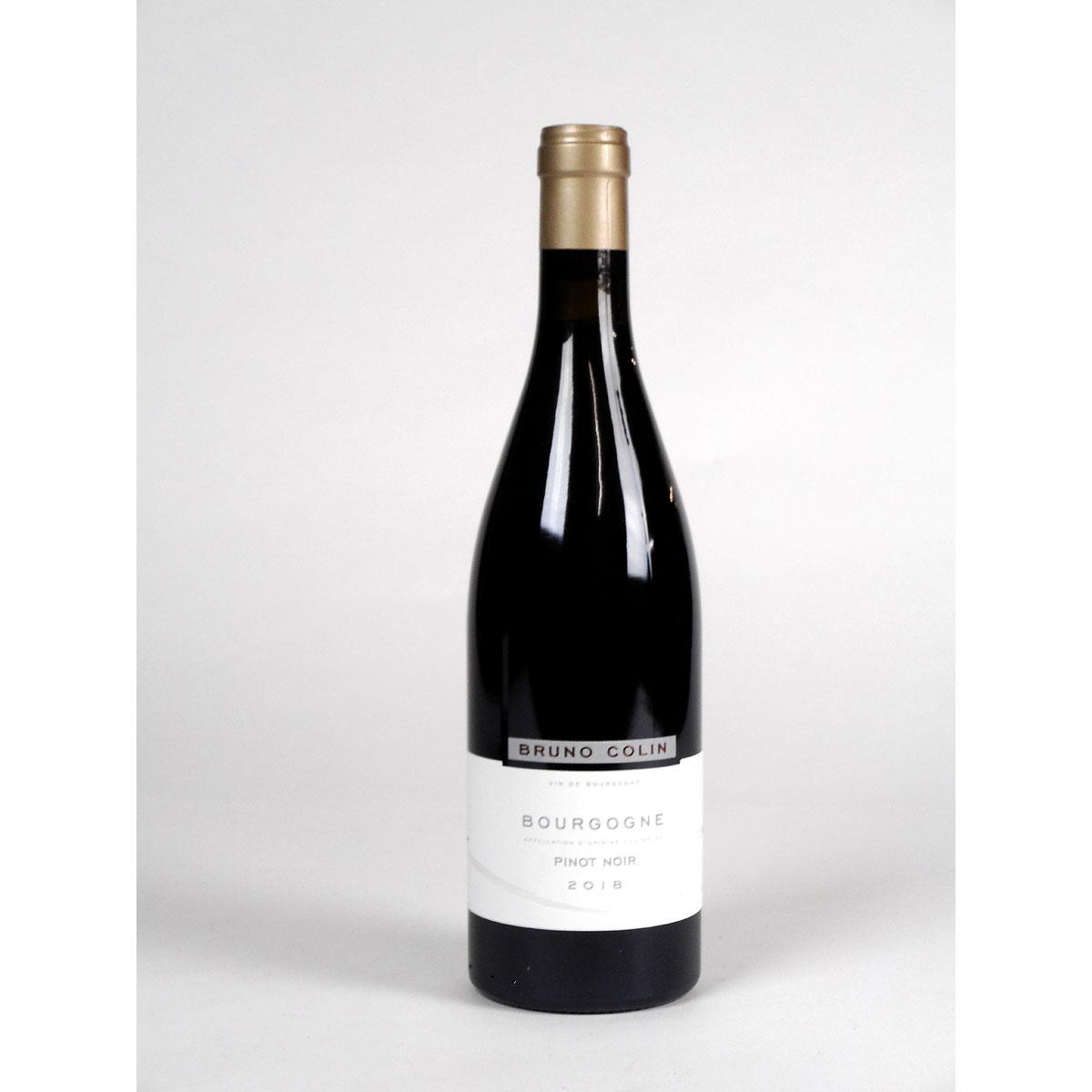Bourgogne Pinot Noir: Domaine Bruno Colin 2018 - Bottle