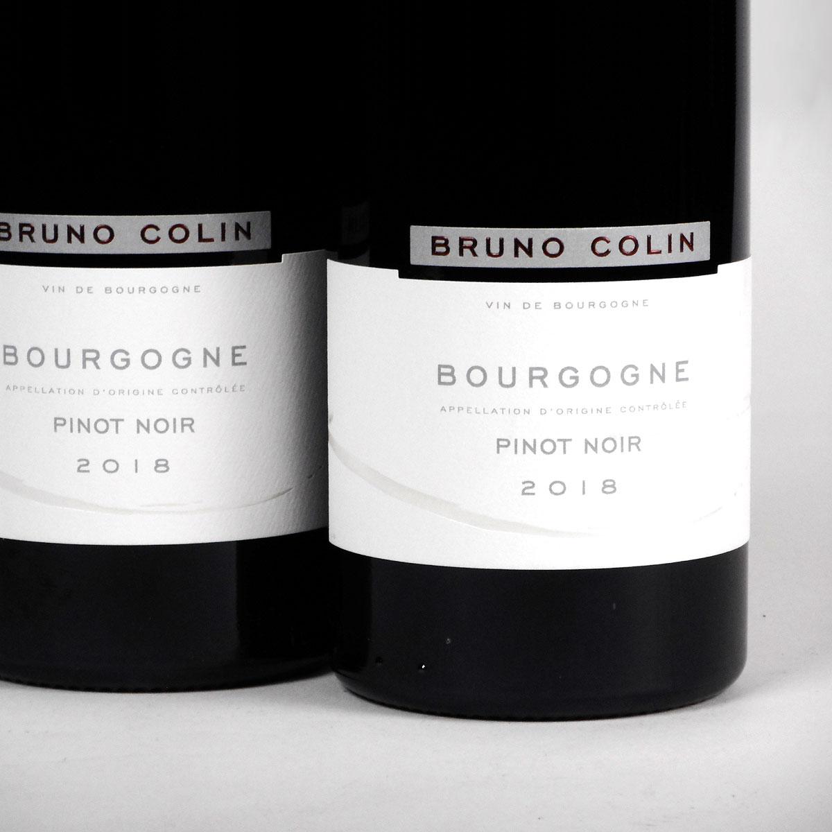 Bourgogne Pinot Noir: Domaine Bruno Colin 2018