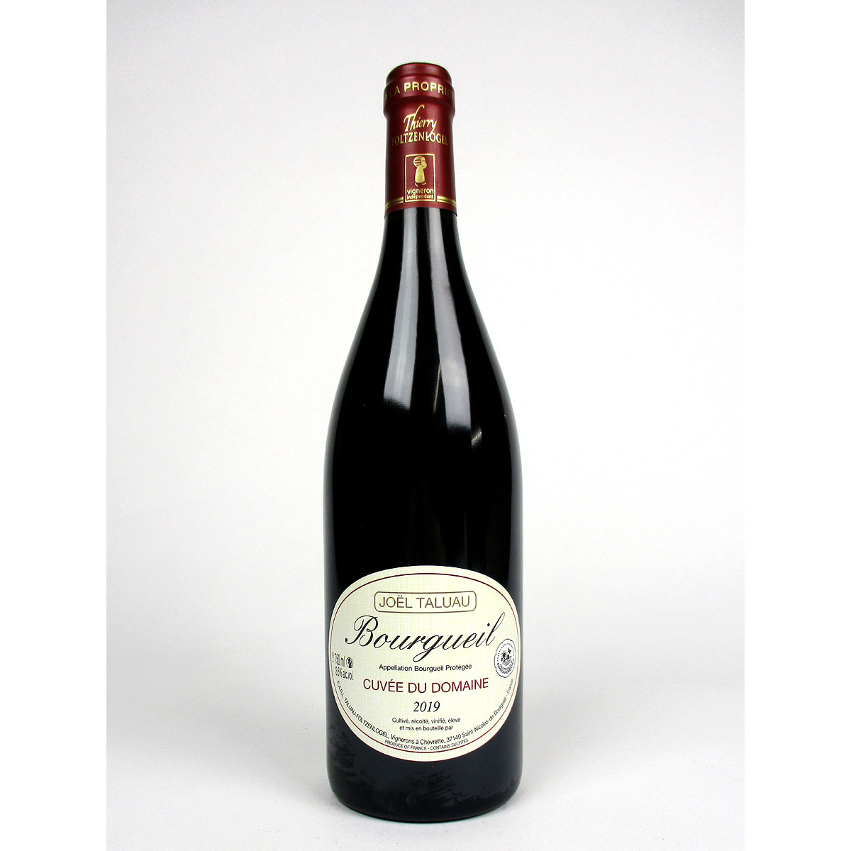 Bourgueil: Domaine Taluau-Foltzenlogel 2019 - Bottle