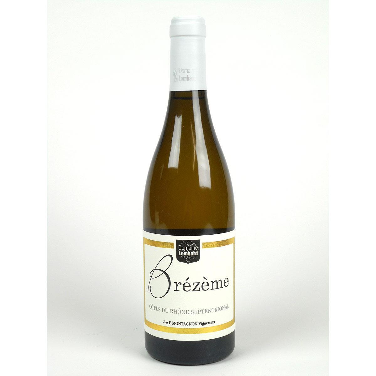 Brézème: Domaine Lombard Blanc 2018 - Bottle