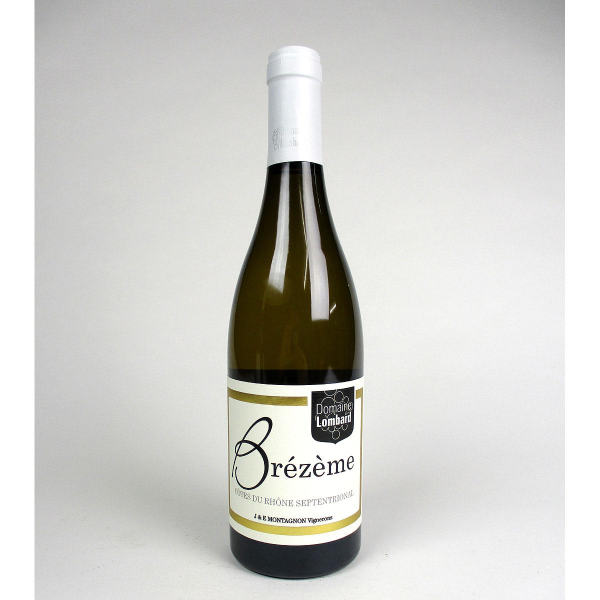 Brézème: Domaine Lombard Blanc 2019 - Bottle