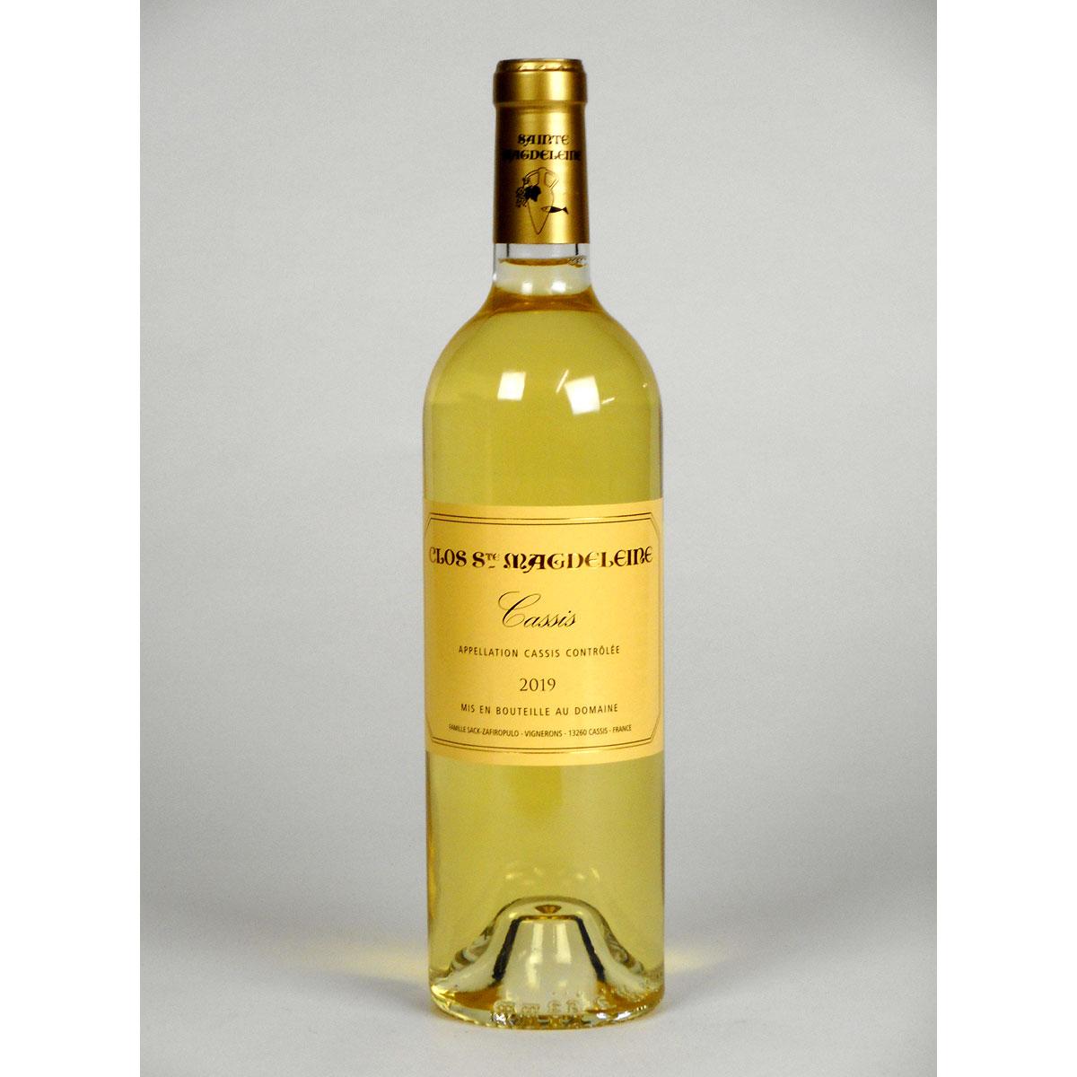 Cassis: Clos Sainte Magdeleine Blanc 2019 - Bottle
