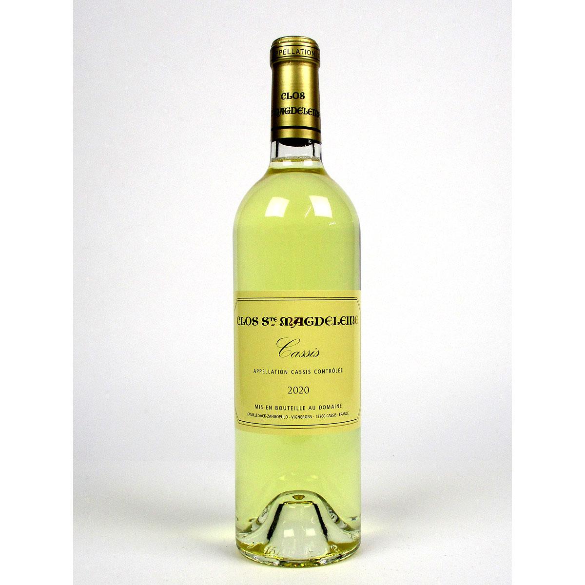 Cassis: Clos Sainte Magdeleine Blanc 2020 - Bottle