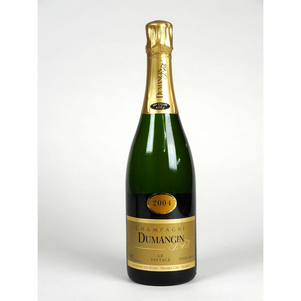 Champagne: Dumangin Fils. Premier Cru Brut Vintage 2004 - Bottle