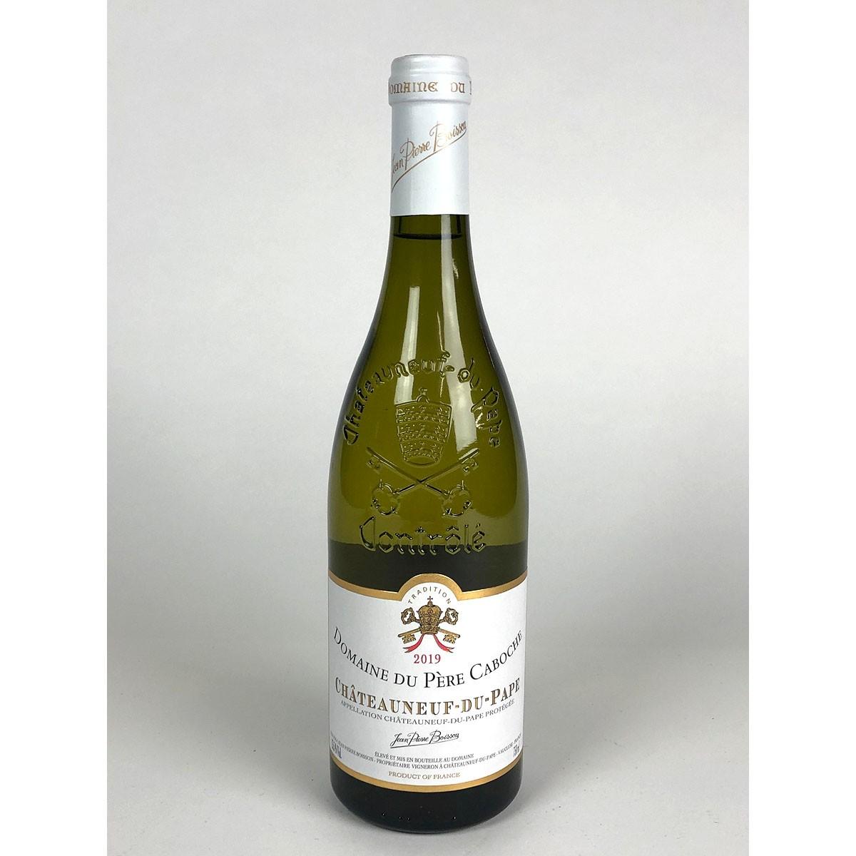 Châteauneuf du Pape: Domaine du Père Caboche Blanc 2019 - Bottle
