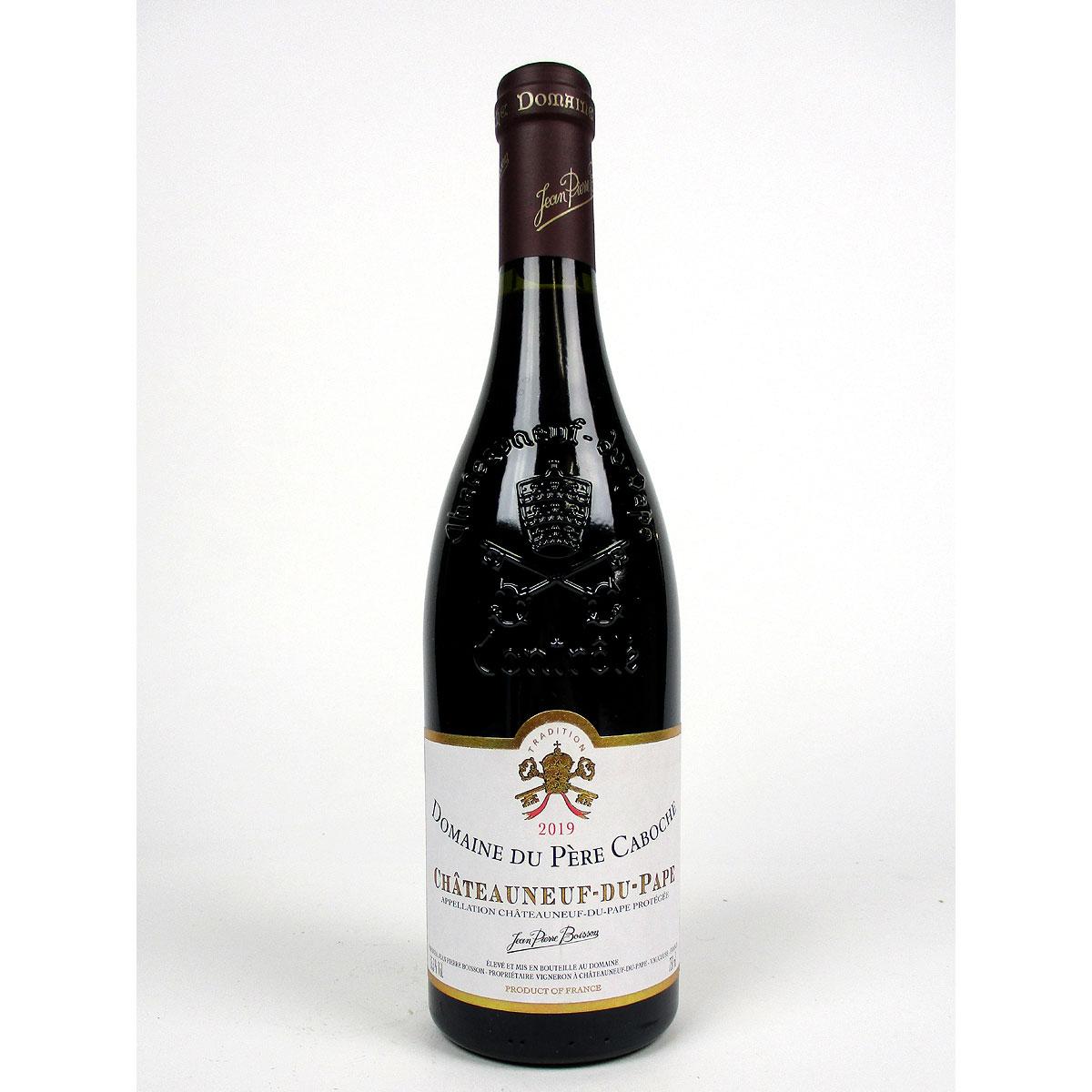 Châteauneuf du Pape: Domaine du Père Caboche Rouge 2019 - Bottle