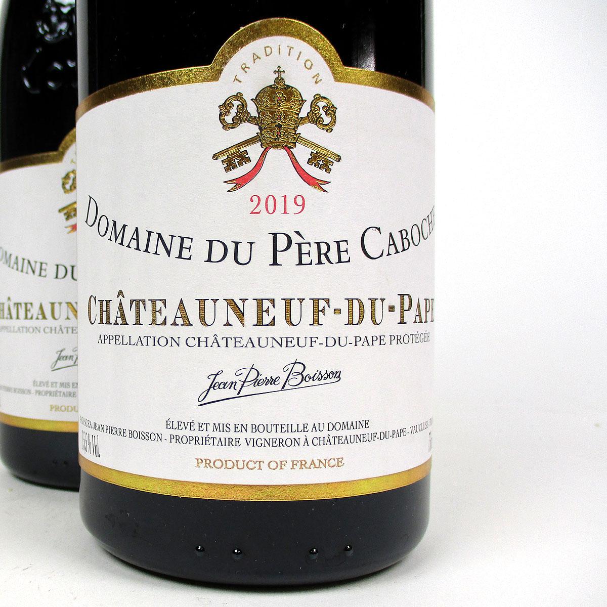 Châteauneuf du Pape: Domaine du Père Caboche Rouge 2019