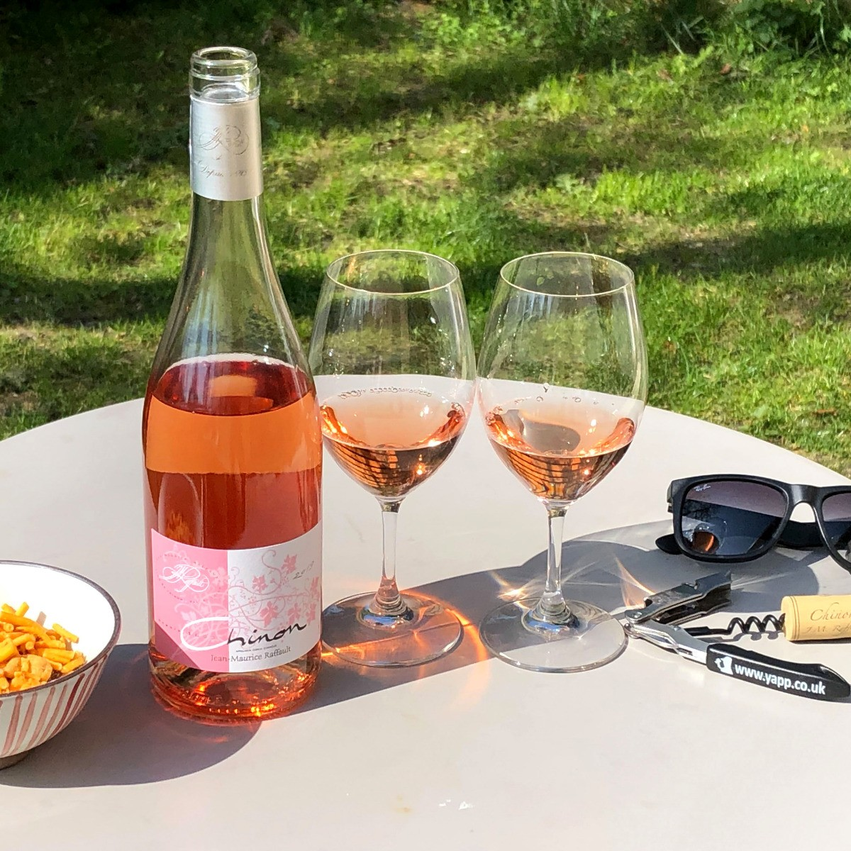 Chinon: Domaine Jean-Maurice Raffault Rosé 2019 - Lifestyle