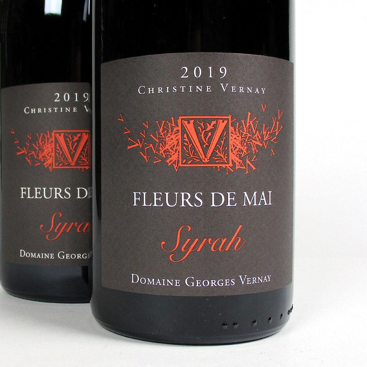 Collines Rhodaniennes: Domaine Georges Vernay 'Fleurs de Mai' Syrah 2019
