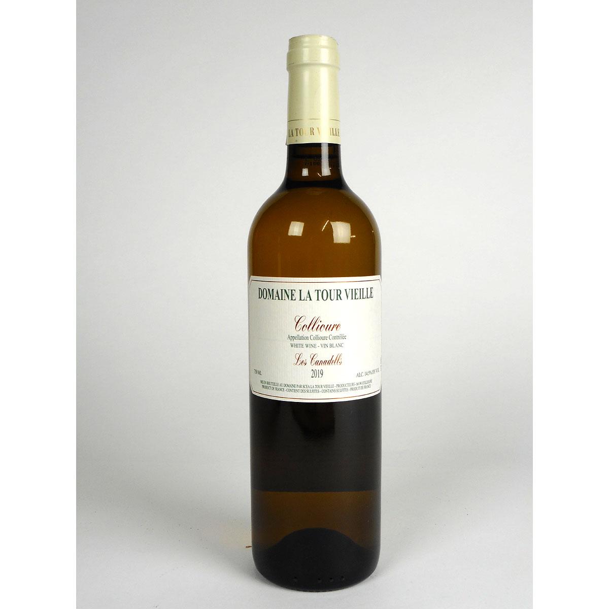 Collioure: Domaine La Tour Vieille 'Les Canadells' 2019 - Bottle