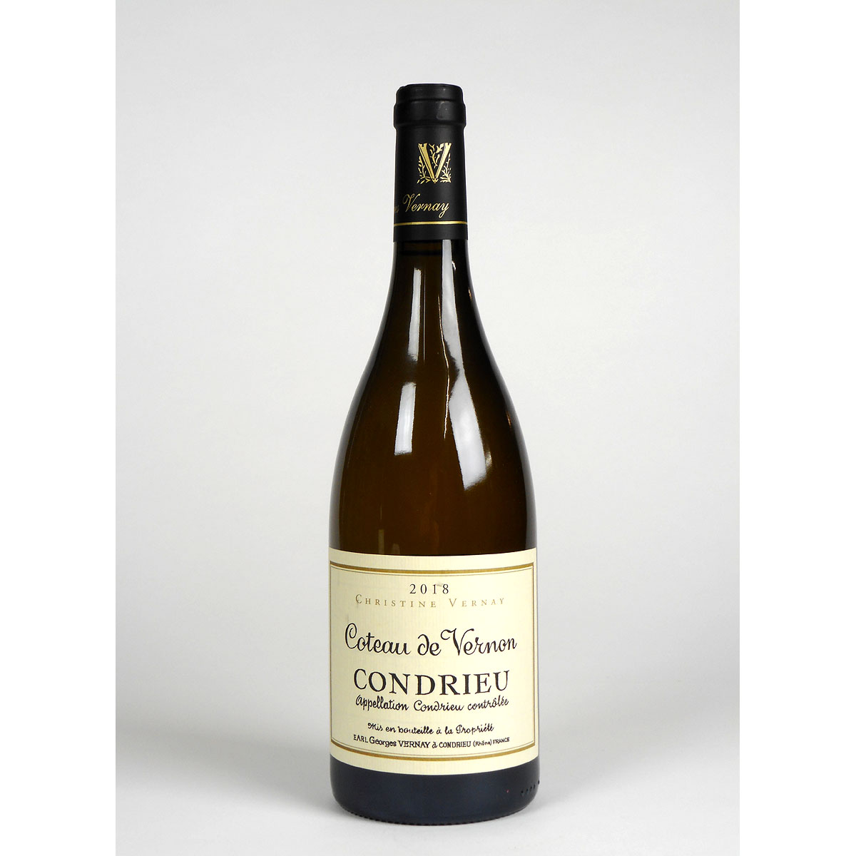 Condrieu: Domaine Georges Vernay 'Coteau de Vernon' 2018 - Wine Bottle