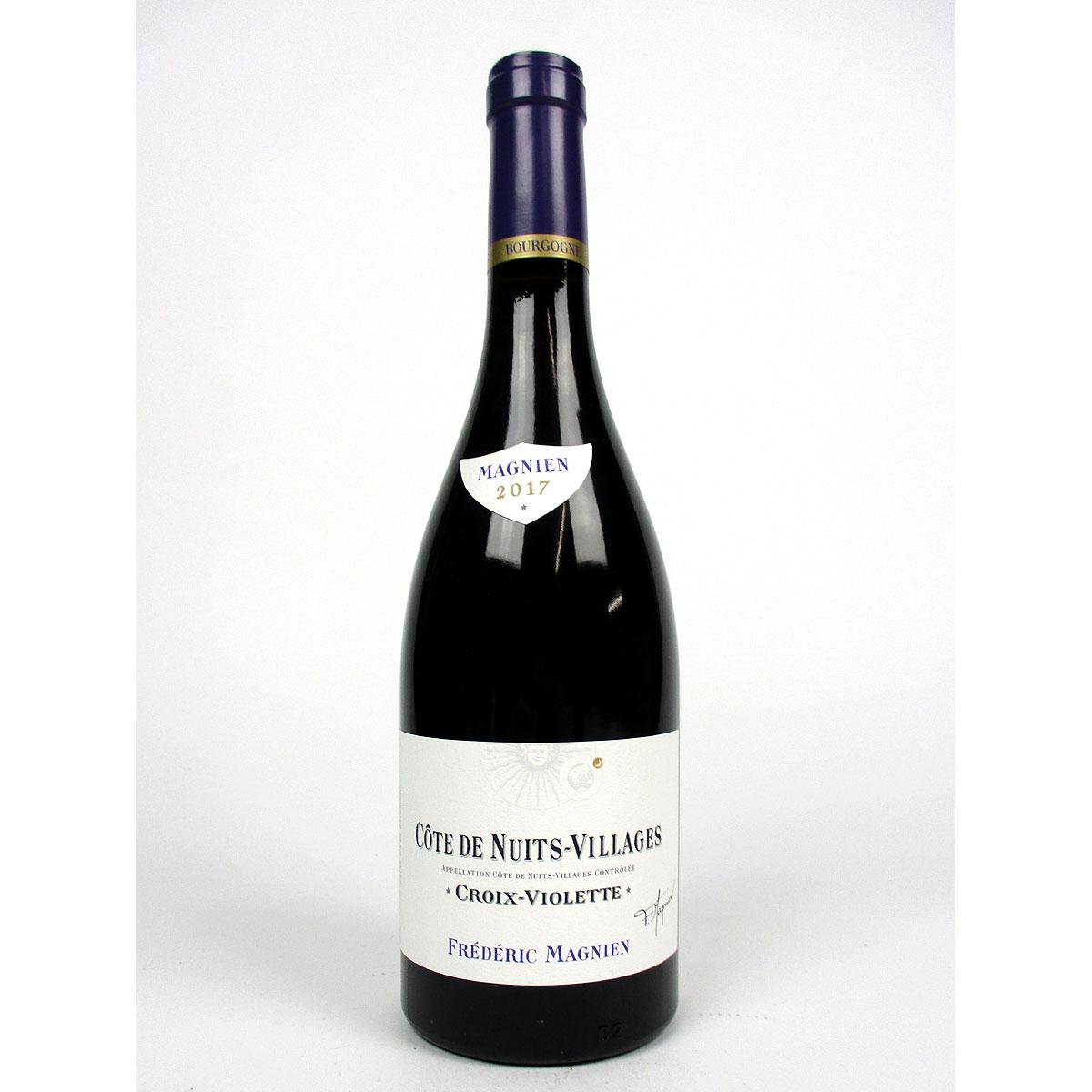 Côte de Nuits-Villages: Frédéric Magnien 'Croix Violette' 2017 - Bottle