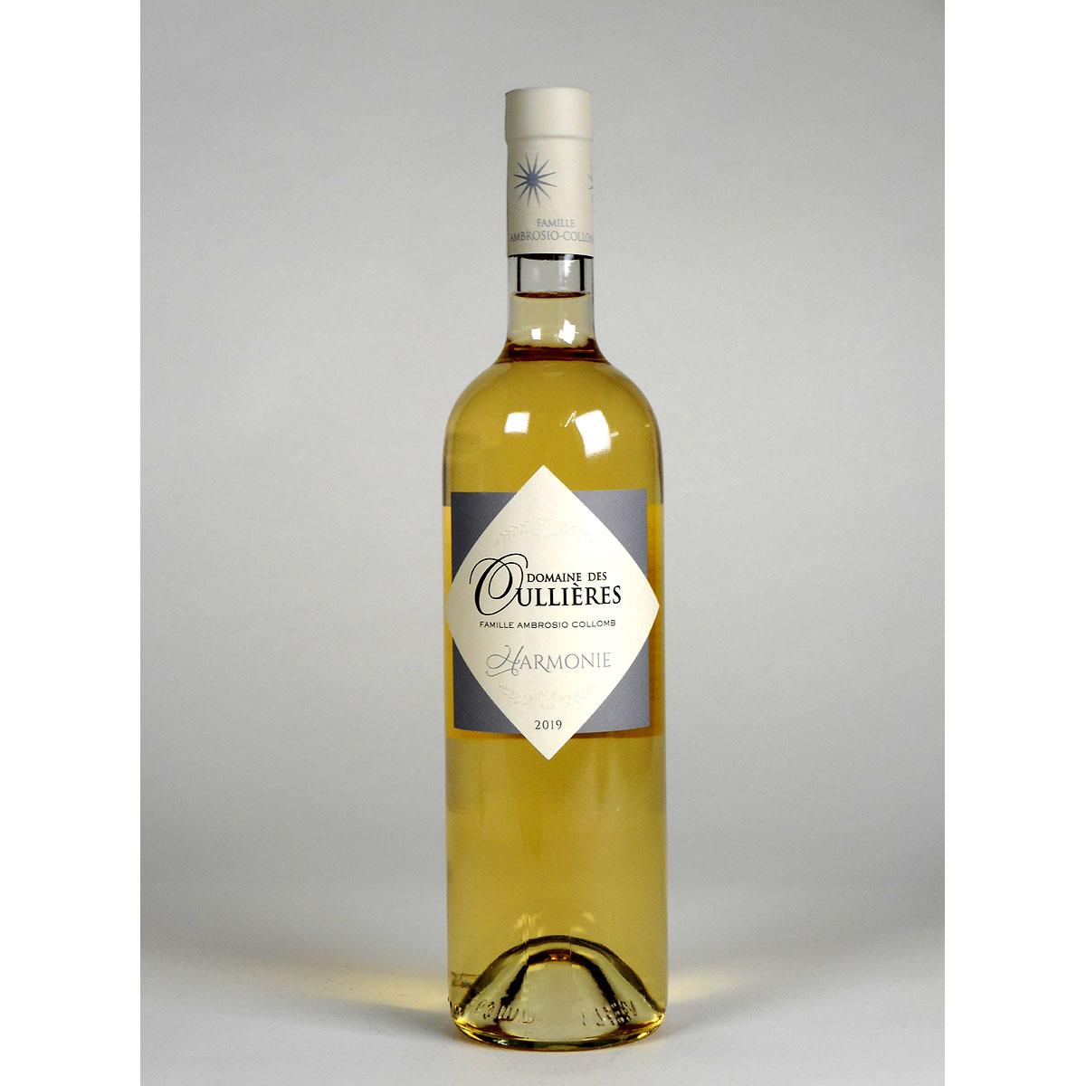Coteaux d'Aix-en-Provence: Domaine des Oullières Blanc 2019 - Wine Bottle