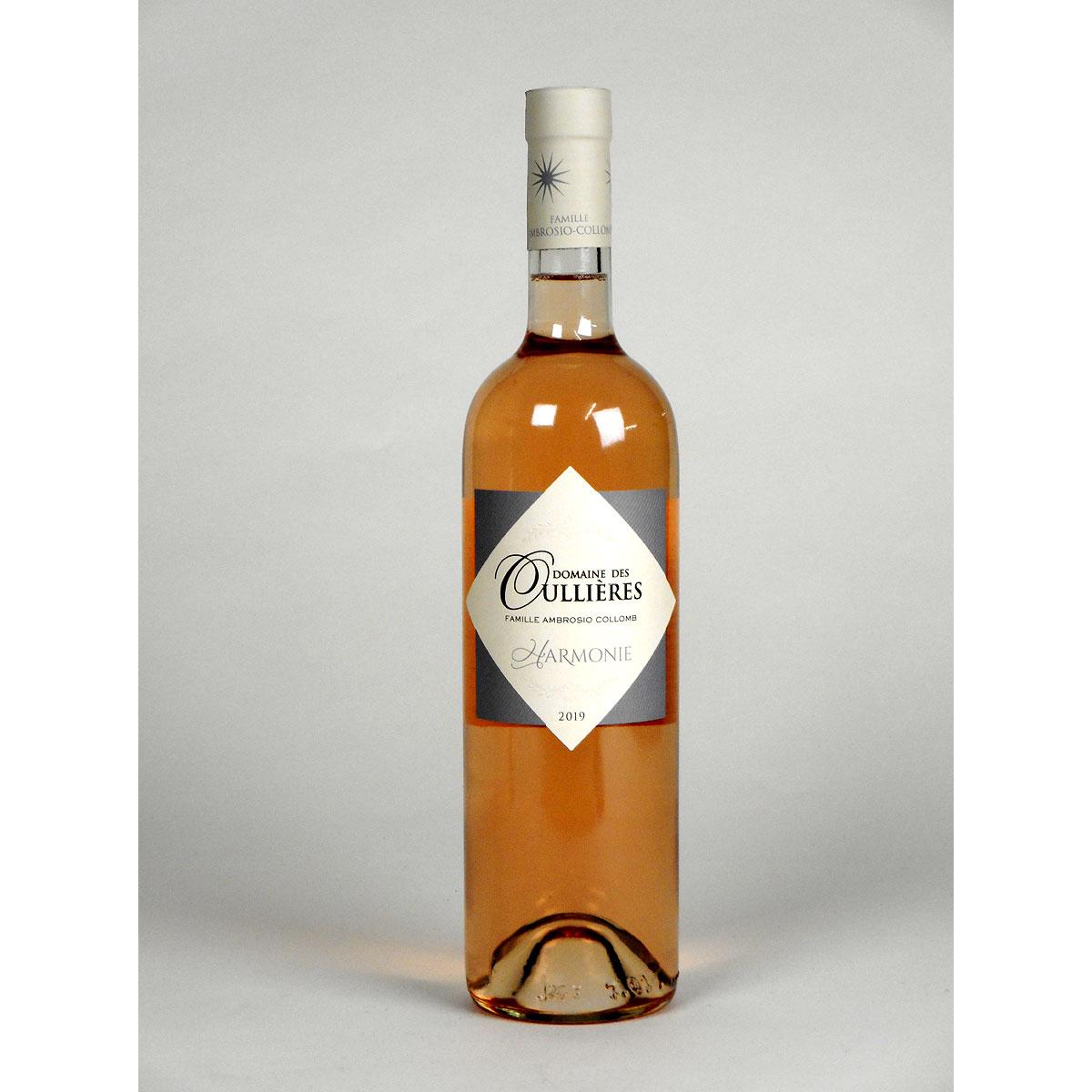 Coteaux d'Aix-en-Provence: Domaine des Oullières Rosé 2018 - Bottle