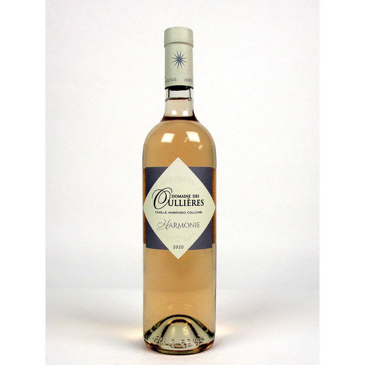 Coteaux d'Aix-en-Provence: Domaine des Oullières Rosé 2020 - Bottle