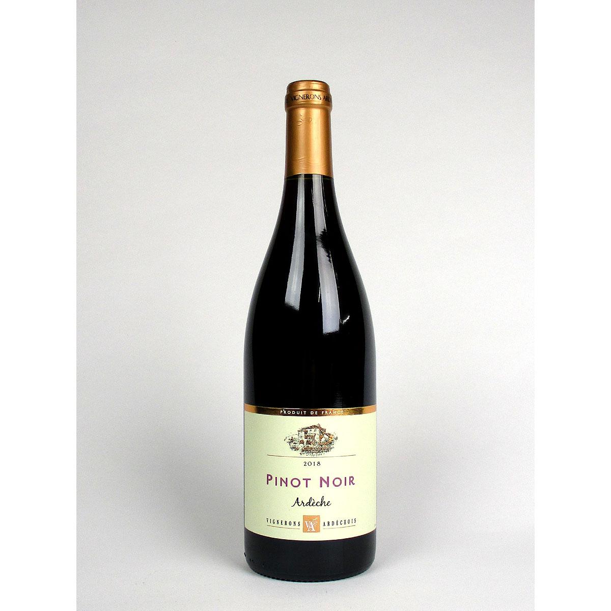 Coteaux de l'Ardèche: Cépage Pinot Noir 2018 - Bottle