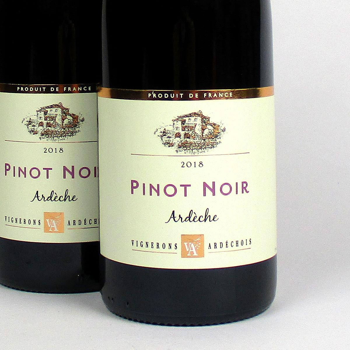 Coteaux de l'Ardèche: Cépage Pinot Noir 2018