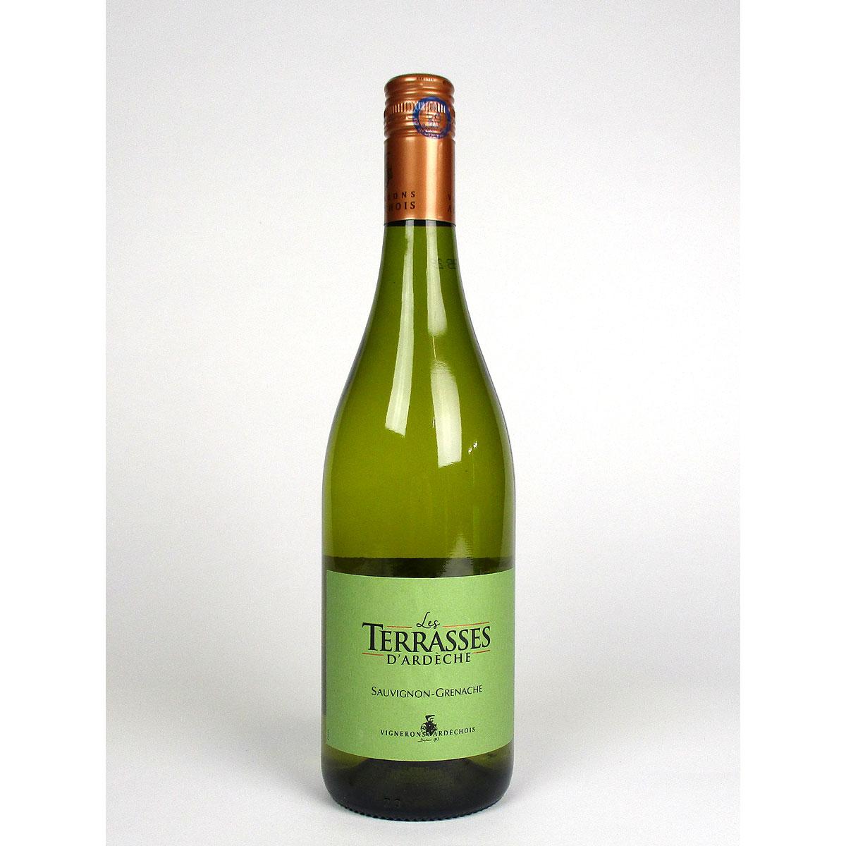 Coteaux de l'Ardèche: 'Les Terrasses' Blanc 2019 - Bottle