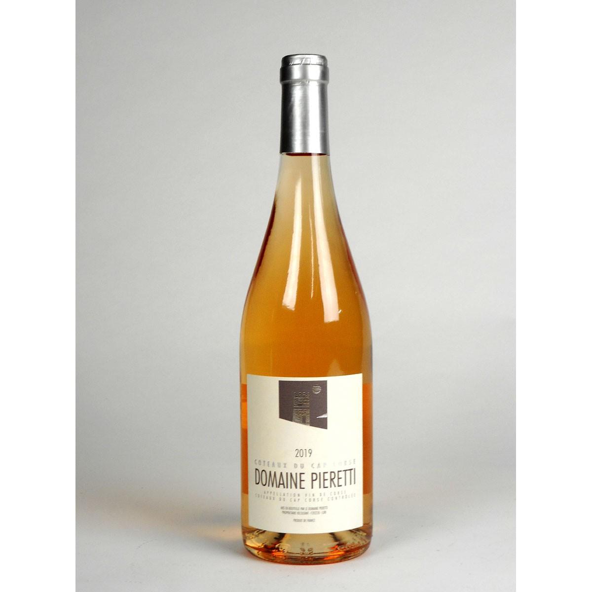 Coteaux du Cap Corse: Domaine Pieretti Rosé 2019 - Bottle