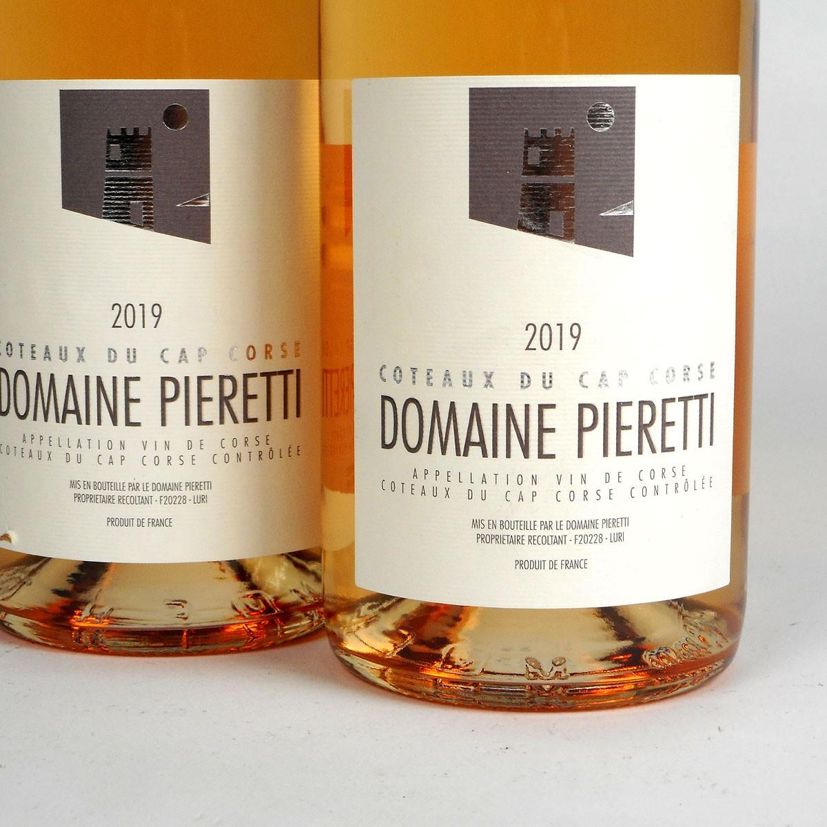Coteaux du Cap Corse: Domaine Pieretti Rosé 2019