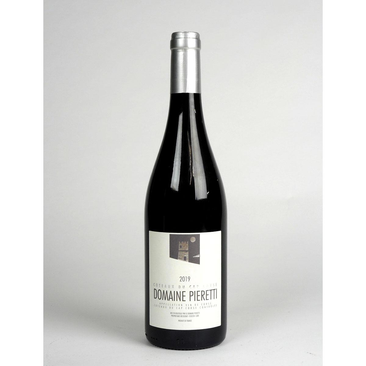 Coteaux du Cap Corse: Domaine Pieretti Rouge 2019 - Bottle