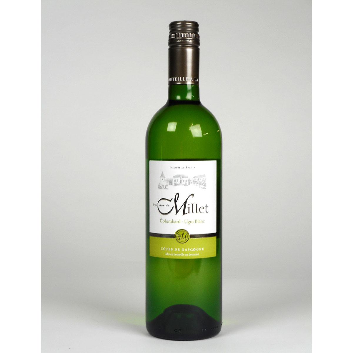 Côtes de Gascogne: Domaine Millet Colombard - Ugni Blanc 2019 - Bottle